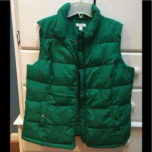 Charter Club XL kelly green vest